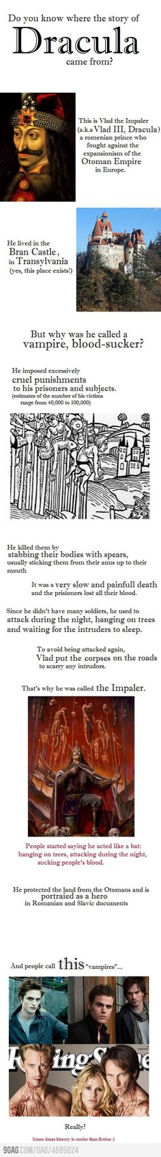 Love the story of Vlad, even though it's one of the most disturbing stories i think ive ever heard.
