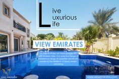 Live luxurious life with View Emirates