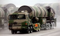 """China's """"Dongfeng -31"""" missile"""