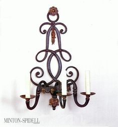 "Minton-Spidell || Gilford Wall Sconce || item# 6072.27 || 23""h x 16""w x 9""d"