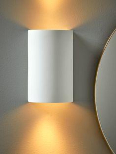 NEW Naked Plaster Double Spotlight Nordic Furniture, Scandinavian Furniture, Furniture Design, Downlights, Interior Lighting, Plaster, Wall Colors, Lamp Light, Spotlight