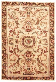 This beautiful Handmade Knotted Rectangular rug is approximately 4 x 5 New Contemporary area rug from our large collection of handmade area rugs with European style from India with Wool. European Style, European Fashion, Contemporary Area Rugs, Rectangular Rugs, Colorful Backgrounds, Restoration, Bohemian Rug, India, Pure Products