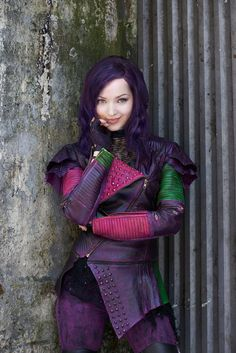 Pin for Later: Relive Your Childhood With These Nostalgic Disney Channel Halloween Costumes Mal From Descendants