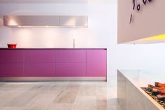 The result of own color preferences of the customer.  A beautiful bulthaup b3 kitchen in matt lacquer with aluminum wall cabinets. Powered by bulthaup kitchen architecture Apeldoorn.  www.bulthaupsf.com #design  #home #bulthaupsf #kitchen #interior