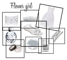"""""""Flower girl"""" by michdancelove11 ❤ liked on Polyvore featuring Bling Jewelry, Rampage, Too Faced Cosmetics and Nails Inc."""