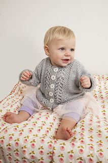 Ravelry  Baby Lace Cardigan pattern by Julie Hines Free Knitting 84947d4dcd23