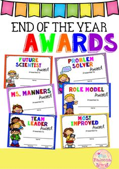 These awards are perfect to celebrate the unique traits of each of your students and their accomplishments. There are 40 different awards in this product. Available in Powerpoint version that allows you to type your name and your student's name directly onto the awards. I also add the pdf files in this product. Kindergarten| Elementary | Classroom Management |End of the Year| End of the Year Awards| Printables|English Language Arts