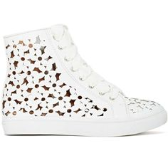 Jeffrey Campbell Adaisy Sneaker found on Polyvore