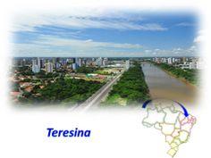 Teresina - Pesquisa Google - E a capital e o municipio mais populoso do estado do Piaui. Localiza-se no Centro-Norte Piauiense a 366 km do litoral, sendo portanto a unica capital da Regiao Nordeste que nao se localiza as margens do Oceano Atlantico.