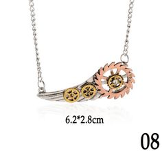 These necklaces will absolutely satisfy the tastes of people interested in the Steampunk culture, be it a literary sub-genre, an aesthetic design, or a philosophy. 19 to choose from so look no further because these are perfection!
