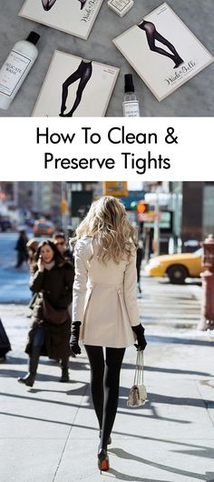 When you find that perfect pair of tights, you want to make them last. And there's nothing that wears gorgeous hosiery down like careless laundering. That's why we're breaking down the basics of washing delicates. Keep your tights clean and make them last longer with these helpful tips from the experts at The Laundress.
