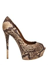 Every girl deserves a good pair of snakeskin shoes!