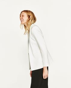ZARA - WOMAN - BLAZER WITHOUT LAPEL