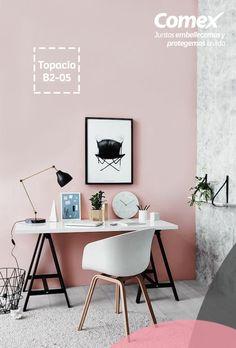 Con el color #Topacio crearás espacios llenos de luz. #Decoración #ComexPinturerías #Tendencias