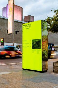 Design Junction Wayfinding Strategy - Maynard Design Interior Design Exhibition, Exhibition Display, Contemporary Interior Design, Environmental Graphic Design, Environmental Graphics, Wayfinding Signs, Signage, Old Montreal, Display Design