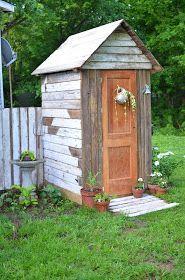 potting shed, garden shed