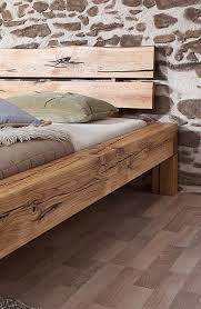 Balkenbett rustikal  Balkenbett 140 x 200, aus birke rustikal in jona kaufen bei ...