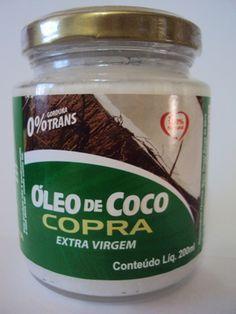 Óleo de Coco para Umectação dos Cabelos R$22,90