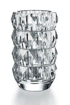 Shop Louxor Round Vase from Baccarat at Horchow, where you'll find new lower shipping on hundreds of home furnishings and gifts. Baccarat Crystal, Crystal Decanter, Crystal Vase, Crystal Flower, Crystal Glassware, Crystals In The Home, Buy Crystals, Bud Vases, Flower Vases