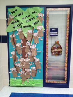 Image result for red ribbon week door decorating ideas