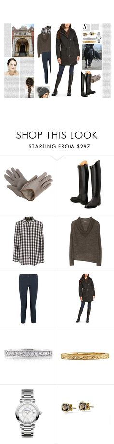 """""""Untitled #3140"""" by duchessq ❤ liked on Polyvore featuring Brunello Cucinelli, Equipment, Helmut Lang, Ariat, Mark Broumand and Chopard"""