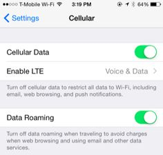 Not everyone has unlimited cellular data. If you find yourself going over your cellular data allowance and paying overage charges or getting throttled, you can make your iPhone use less data.