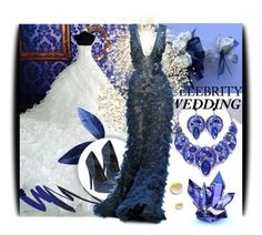 """""""You're Invited: Celebrity Wedding"""" by amerlinakasumovic ❤ liked on Polyvore featuring Elie Saab and CelebrityWedding"""