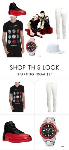 """""""Stressed Out"""" by raeraequanfitzgeraldparrish ❤ liked on Polyvore featuring Yves Saint Laurent, NIKE, Stührling and 21 Men"""
