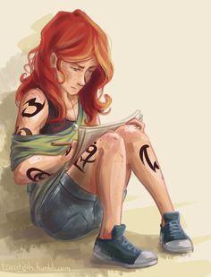 Clary Drawing by taratjah.deviantart.com on @deviantART