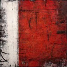 "Ivo Stoyanov - ""SYMBOLS OF MEMORY"" Number 07 2005 Mixed media on canvas 48""x48"""