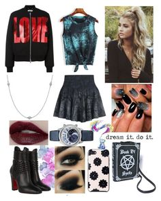 """""""#889"""" by splendoraviolet ❤ liked on Polyvore featuring Elsa Peretti, Kate Spade, Christian Louboutin and Givenchy"""