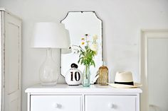 Dressing up a Chest of Drawers Beach Cottage style « Coastal Vintage Shop, Beachy