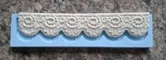 LACE BORDER MOULD 2 on Babycakes & Roses Cakecraft