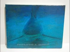 Como transferir una imagen sobre un lienzo, con el Gel Medium y una impresión de una imagen impresa en Láser.