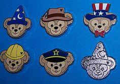 "Disney 2012 Hidden Mickey ""Duffy Hats"" 6 Pins"