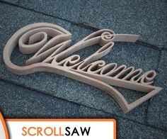 fun & easy scroll saw projects Scroll Saw Patterns Free, Scroll Pattern, Woodworking Patterns, Woodworking Crafts, Diy Home Crafts, Wood Crafts, Scroll Saw Blades, Cool Tools, Cnc