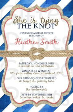 Rustic Floral Bridal Shower Invitation Shower invitations