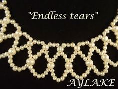 Endless tears Easy, elegant netting  #Seed #Bead #Tutorials