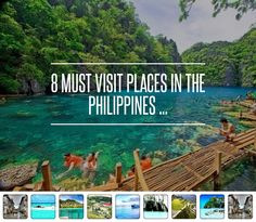 8 Must #Visit Places in the #Philippines ... → #Travel #Tubbataha  -  I hope and pray  to get to visit these beautiful places of my country.  Either by group tour or as a solo traveler