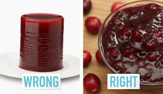 11 Ways You're Cooking Thanksgiving Dinner Wrong -  sorry I still like the canned stuff