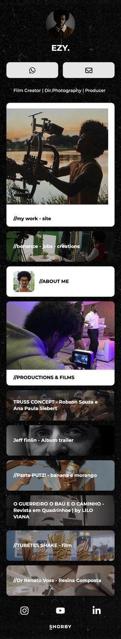 Film Creator   Dir.Photography   Producer Behance, Trailer, Album, Landing, Photographers, The Creator, 1, Film