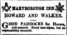 19 December 1861 Maryborough Inn