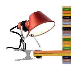 Artemide Tolomeo Pinza Lamp - Paper Rooms - Artemide Tolomeo Clip Light Supplier