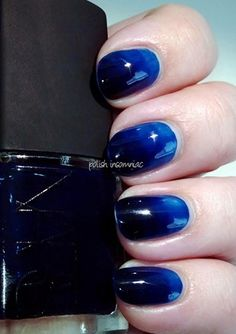 """""""Syruping""""... gradient with a single jelly polish. INTERESTING!"""