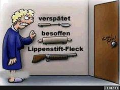Lippenstift-Fleck | DEBESTE.de, Lustige Bilder, Sprüche, Witze und Videos