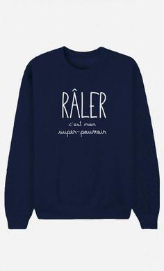 Haha il me le faut! Sweater Shirt, Crew Neck Sweatshirt, T Shirt, Graphic Sweatshirt, Moda Ulzzang, Sweat Noir, Funny Tee Shirts, Mode Style, Unique Fashion