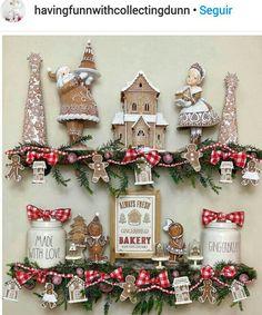 Gingerbread Christmas Decor, Christmas Wreaths, Christmas Decorations, Christmas Ornaments, Holiday Decor, Christmas Time, Advent Calendar, Home Decor, Ideas