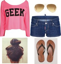"""Geeky Chic"" by kaitlinsmommy on Polyvore"