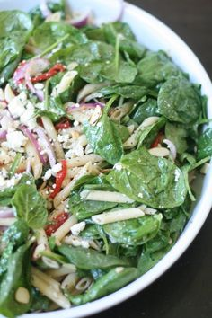 Spinach, Feta, Roasted Bell Peppers Pasta Salad - Back to School (with Pictures) - Instructables Roasted Red Pepper Pasta, Oven Roasted Chicken, Roasted Red Peppers, Bell Pepper Salad, Stuffed Pepper Soup, Stuffed Peppers, Guacamole Salad, Feta Salad, Salads