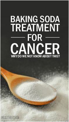 Below, we describe several therapies to treat cancer with baking soda, which have helped hundreds of people. However, it is important to understand that cancer is a serious disease and that such treatment must necessarily be done under the supervision of Health Heal, Health And Nutrition, Health And Wellness, Health Care, Colon Health, Natural Cancer Cures, Natural Cures, Natural Healing, Salud Natural